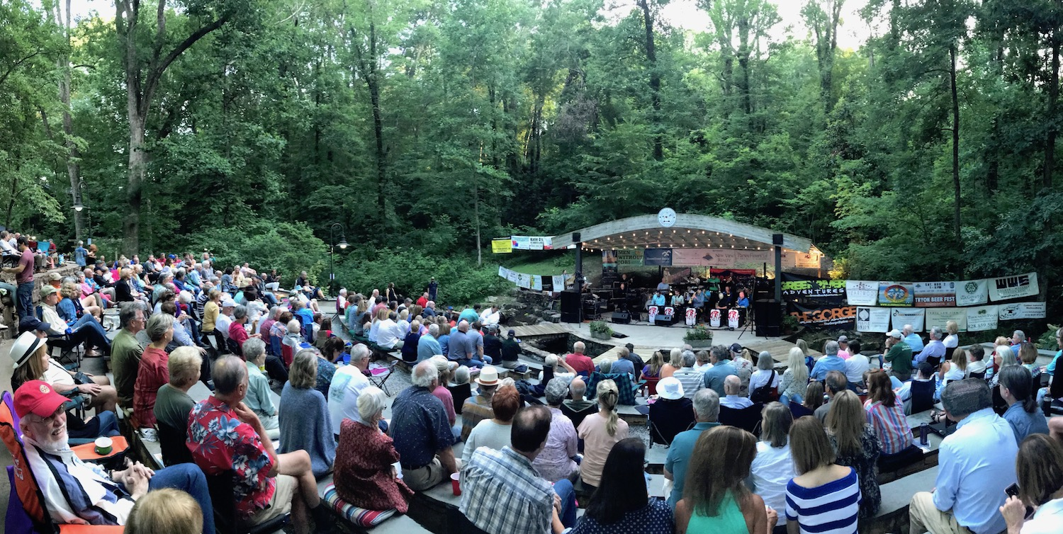 Summer Tracks Season 2020 Concert Series Rogers Park in Tryon, North Carolina